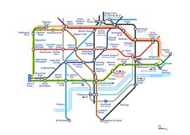 kew railway station london underground tube map