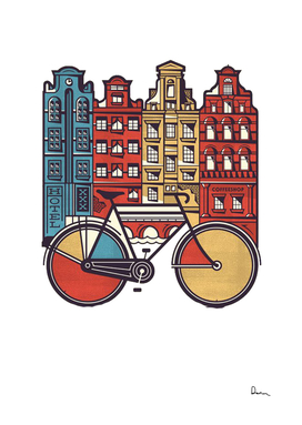 amsterdam graphic design poster illustration