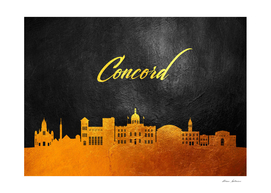Concord Massachusetts Gold Skyline
