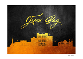 Green Bay Wisconsin Gold Skyline
