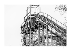The Cyclone Roller Coaster - Coney Island, Brooklyn, NY
