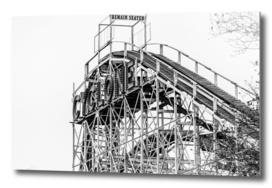 The Cyclone Roller Coaster - Coney Island, Brooklyn, NY