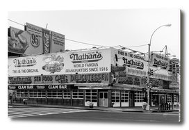 Nathan's World Famous Hot Dogs