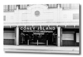 Coney Island Subway Entrance
