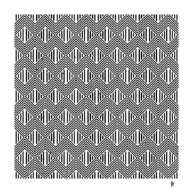 Pattern with striped zig-zag lines (7)
