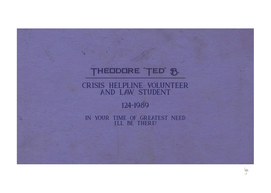 Ted's Business Card