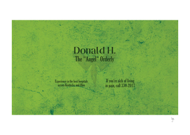 Donald's Business Card