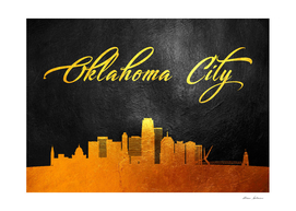 Oklahoma City Gold Skyline