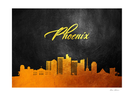 Phoenix Arizona Gold Skyline