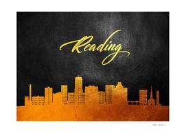 Reading Pennsylvania Gold Skyline