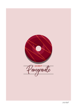 1DONUT - Pomegranate