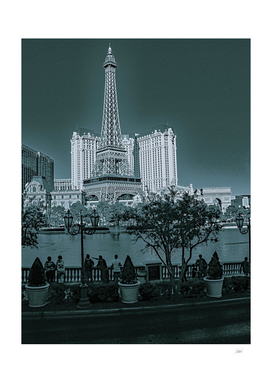 Paris las Vegas Vintage