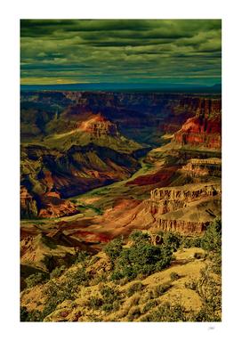Grand Canyon Illuminated