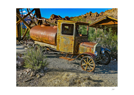 Old Car in Ghost Town