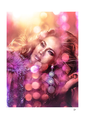 Illustrator Jennifer Lopez