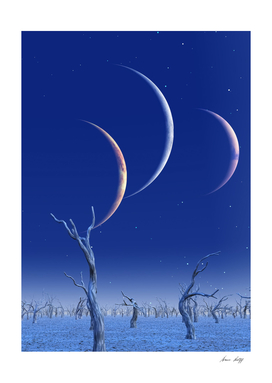 Three Planets Rise