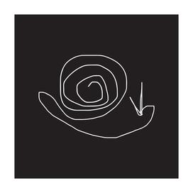 15kartline drawing - snail