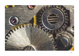 Gearwheel from old clock