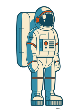astronaut outer space