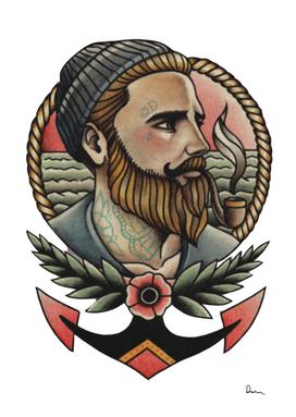 Tattoo artist flash sailor tattoos old school tat par