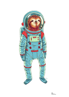 sloth astronaut international space station outer