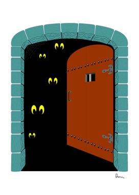 door clip art spooky door cliparts