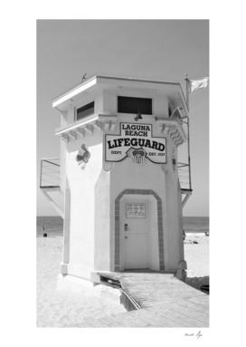 Laguna Beach Lifeguard Station, California Photography
