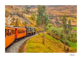 Nariz del Diablo Train Trip, Alausi- Ecuador