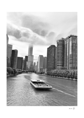 Chicago, Illinois River View Downtown