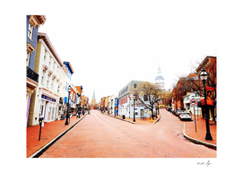 Annapolis, Maryland Downtown