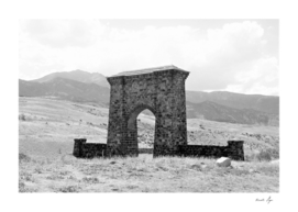 Yellowstone National Park Roosevelt Arch