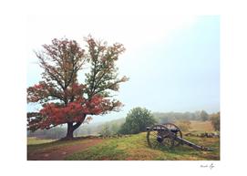 Gettysburg, Pennsylvania in Fall