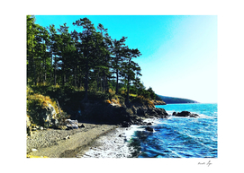 Washington Fidalgo Island Sunset Beach Washington