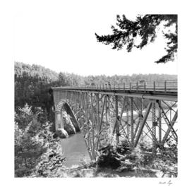 Washington Whidbey Island Deception Pass Bridge