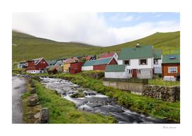 Colourful houses in Faroe Islands