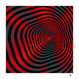 Square wormhole (red and green)