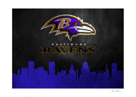 Baltimore Ravens Skyline