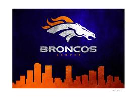 Denver Broncos Skyline
