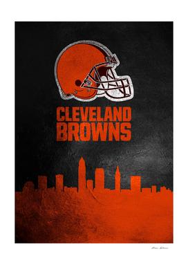 Cleveland Browns Skyline