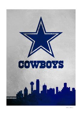 Dallas Cowboys Skyline