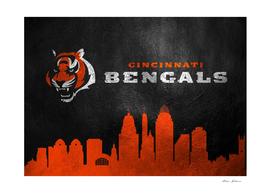 Cincinnati Bengals Skyline