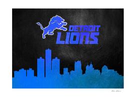 Detroit Lions Skyline