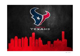 Houston Texans Skyline
