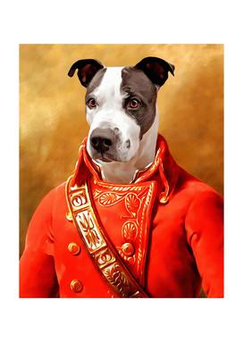 Pet portraits, Personalized gift, Regal pet portraits