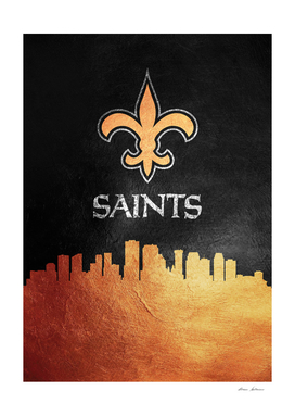 New Orleans Saints Skyline