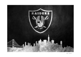 Oakland Raiders Skyline