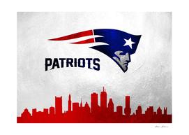New England Patriots Skyline