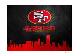 San Francisco 49ers Skyline