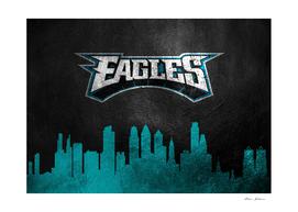 Philadelphia Eagles Skyline 2