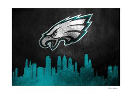 Philadelphia Eagles Skyline